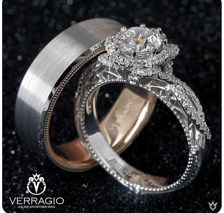 This Setting Technique Truly Makes Each Verragio Design As Unique The Woman Who Wears It